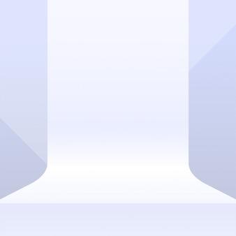 Maqueta de la plataforma para el fondo de visualización del producto