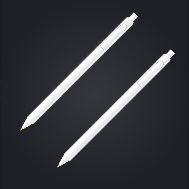 Maqueta de pluma. concepto gráfico para su diseño