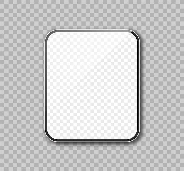 Maqueta realista de tableta