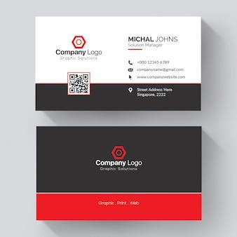 Maqueta de tarjeta profesional