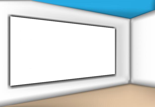 Maqueta para tu marca gradiente gris