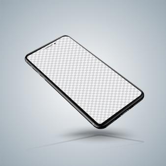 Maquetas de teléfonos inteligentes realistas