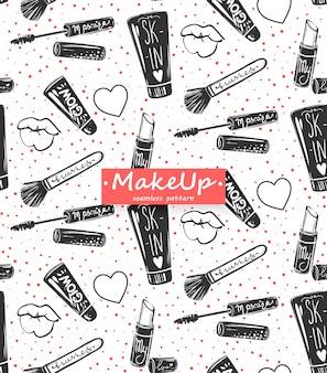 Maquillaje de patrones sin fisuras.