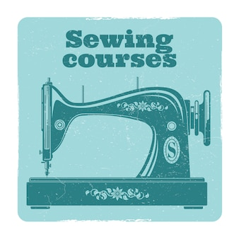 Máquina de coser sevintage