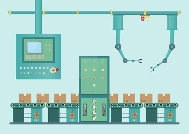 Máquina de la fábrica industrial