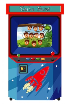 Máquina de juego para contar números