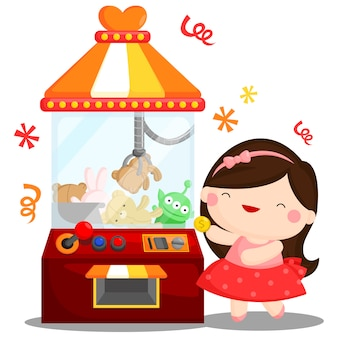 Máquina de juego de muñecas