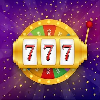 Máquina tragamonedas con jackpot lucky sevens
