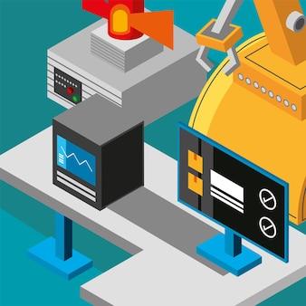 Maquinaria industrial automática