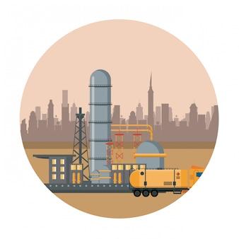 Maquinaria de refinería de petróleo