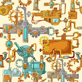 Maquinas industriales sin costura