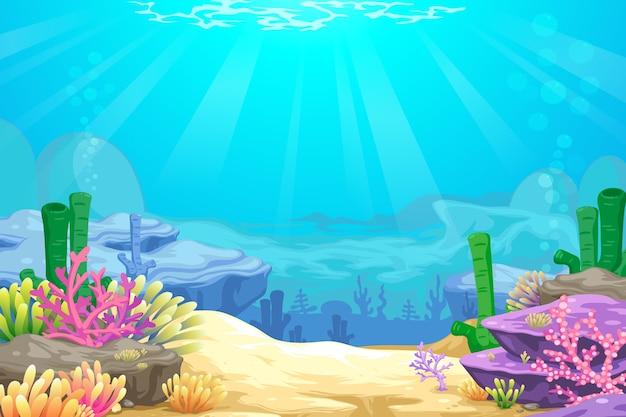 Bajo el mar blackground