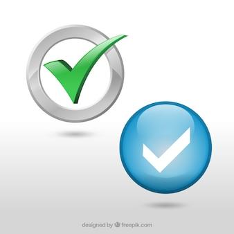 Marcas de verificación conjunto