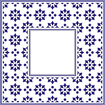 Marco de cerámica