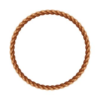 Marco de cuerda circular