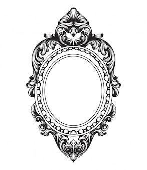 Marco de espejo barroco