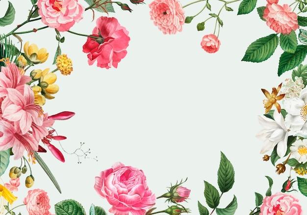 Marcos Esquineros Para Fotos De Flores: Esquineros De Flores Para Tarjetas