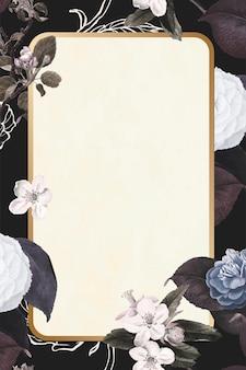 Marco floral vintage