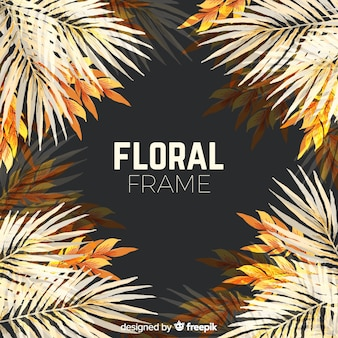 Marco floral