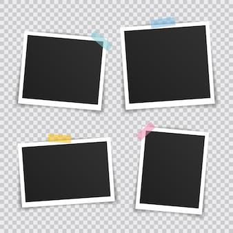 Marco de fotos vectoriales