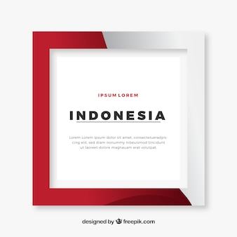 Marco de indonesia