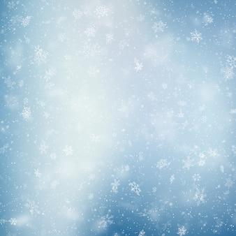 Marco de navidad con ramas de pino y sombra en blanco.
