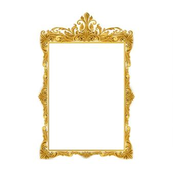 Marco de oro vintage