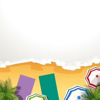 Un marco de playa