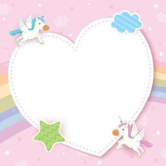Marco unicornio