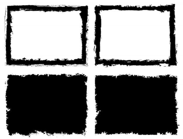 Marcos abstractos grunge