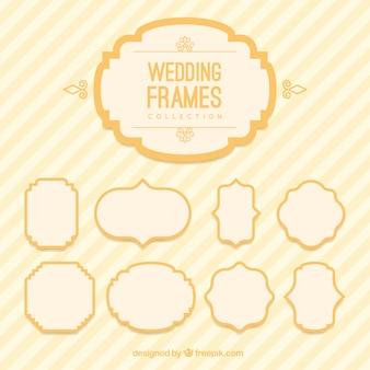 Marcos de boda en estilo vintage