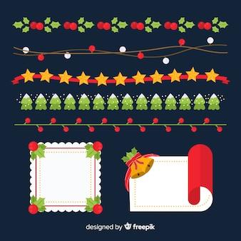 Marcos y bordes de navidad