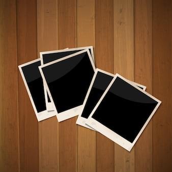 Marcos de fotos en madera