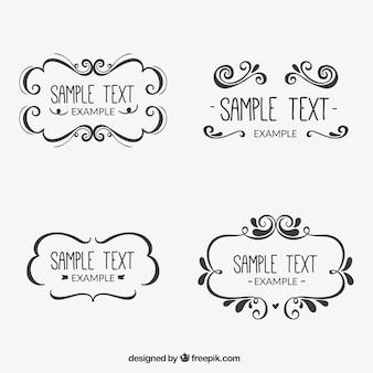 Marcos ornamentales