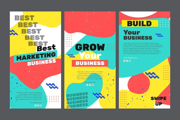 Marketing de historias de instagram de negocios