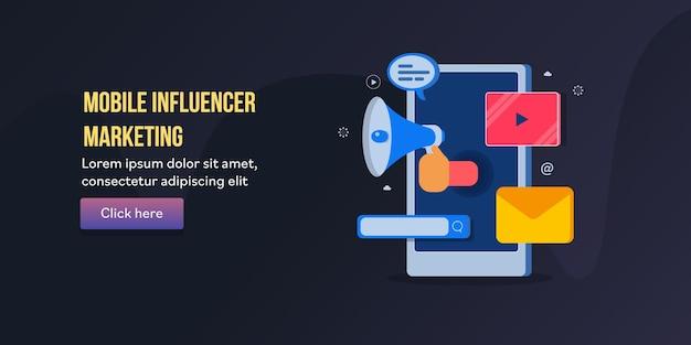 Marketing de influencers móviles