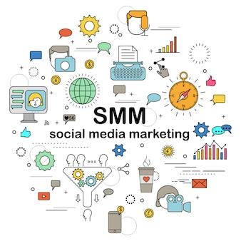Marketing de medios sociales