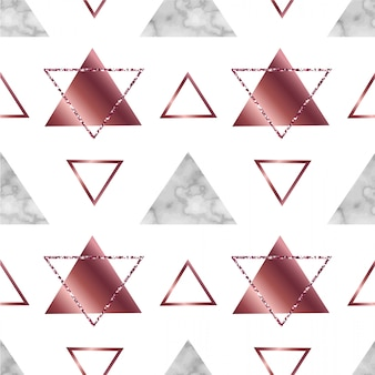 Mármol geométrico de patrones sin fisuras