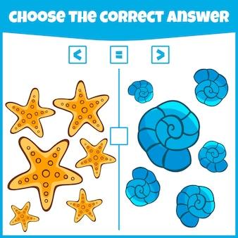 Más menos o igual comparar el número juego de contar juego matemático educativo juego de matemáticas para niños