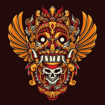 Máscara de la cultura