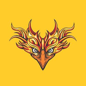 Máscara de fénix