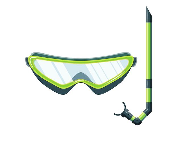 Máscara de snorkel para bucear y nadar.