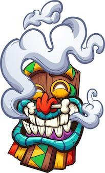 Máscara tiki