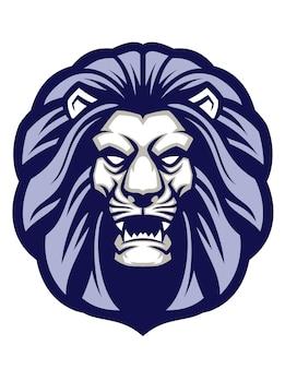 Mascota cabeza de león