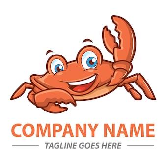 Mascota de cangrejo