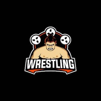 Mascota del logotipo de lucha