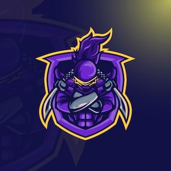Mascota guerrero ninja