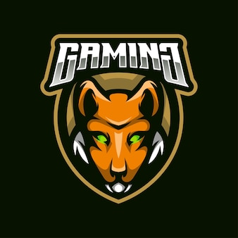 Mascota del logotipo de fox