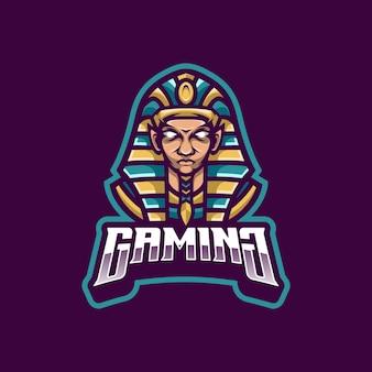 Mascota del logotipo de tutankamón