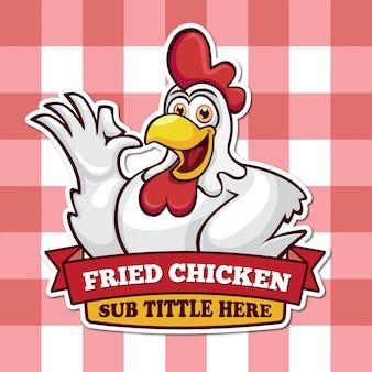 Mascota de pollo